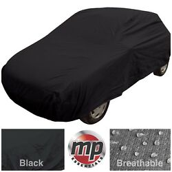 Black Indoor And Outdoor Frost Rain Sun Protection Breathable Full Car Cover Small