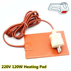 Universal 220V Silicone Heater Pad Element Engine Oil Pan Heater Heater Mat Plug