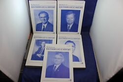 Journal Of Southern Legal History 2008-2012 Set Of 5 Mercer Macon Augusta Ga