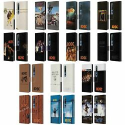 Official Ac/dc Acdc Album Cover Leather Book Wallet Case Cover For Xiaomi Phones
