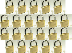 Master Lock Solid Brass 175 Lot 22 Set To Your Own Combination Padlock