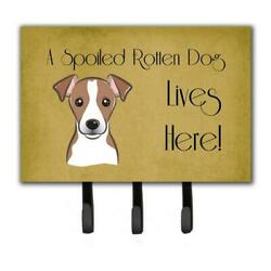 Carolines Treasures Bb1508th68 Jack Russell Terrier Spoiled Dog Lives Here Le...