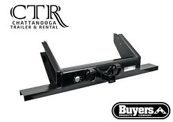 Buyers Products 1809055 Flatbed/flatbed Dump Hitch Plate Bumper W/ 2 Receiver