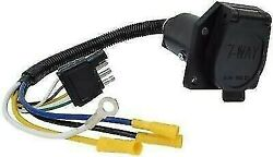 Valterra A10-7084vp 7-way Car End To 4-way 12 Flat Pre-wire Harness