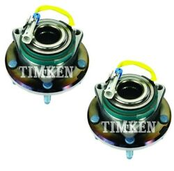Pair Set Of 2 Front Timken Wheel Bearing And Hub Kit For Chevy Corvette 09-13 Rwd