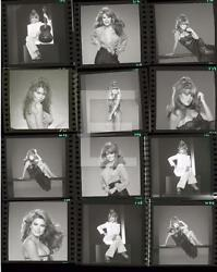 Charo Contact Sheet 11x14 PRINT PHOTO Embossed By Harry Langdon HA34