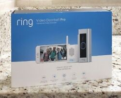 Ring Video Doorbell Pro + Chime Pro Wi-fi Repeater 1080p - Sealed New