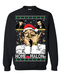 Post Malone Home Alone Home Malone Post Malone Ugly Christmas Sweater Funny Gift