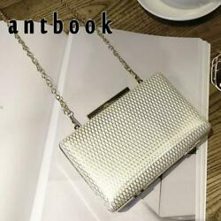 ANTBOOK Women Evening Clutches High Quality Women Diamond Lattice Handbags Purse $30.00