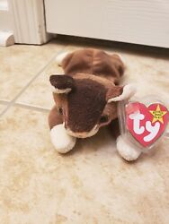 Retired Ty Beanie Baby Pounce The Cat 1997