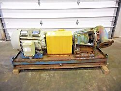 Rx-3637 Metso Mm150 Lhc-d 6 X 4 Slurry Pump W/ 50hp Motor And Frame