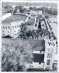 1958 Lakeland FL All Saints Church City Hall Fla Citrus Mutual Press Photo