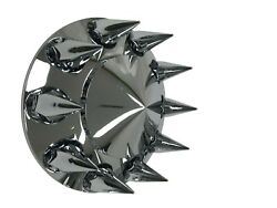 Front Hub Cover Chrome Removable Hubcap 33mm Nut Covers Spiked Semi Truck