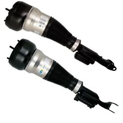 Pair Set Of 2 Front Bilstein B4 Air Suspension Spring For Benz W222 S550 4matic