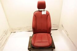 Red Passenger Right Front Leather Bucket Seat Air Bag Fits 15-16 BMW 228I OEM