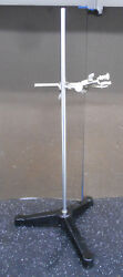 Fisher Laboratory Stand W/ 12 Base 23.75 Post And Clamp