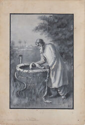 Original Artwork For 1908 Book Oral Tradition From The Indus By Miss L Fenn