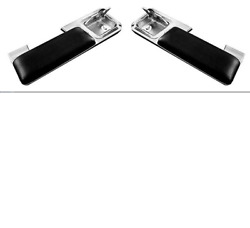 Chevy Chevelle Pontiac Gto Rear Arm Rest Set With Pad And Ash Tray 1966-1967