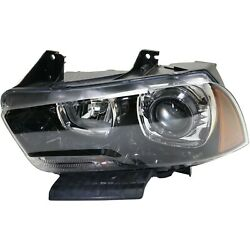 Headlight For 2011-2014 Dodge Charger Driver Side