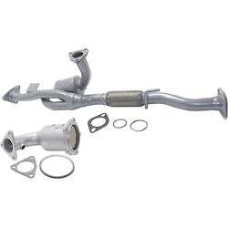 New Catalytic Converters Set Of 2 For Nissan Maxima Infiniti I30 2000-2001 Pair