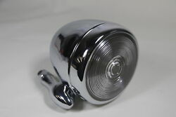 Chrome Dummy Outside Mounted Spotlights Custom Pickup Vintage Classic Car Single