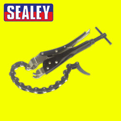 Sealey Car/van Steel Chain Type Exhaust Tail Pipe/tube Cutter/cutting - Ak6838
