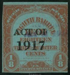 Beer Stamp Scott Rea132a 176a Type 153 Mint F