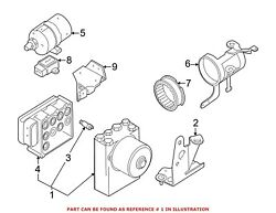For Bmw Genuine Abs Hydraulic Assembly 34516769536