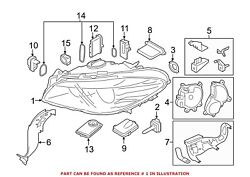 For BMW Genuine Headlight Right 63117352486