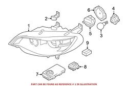 For BMW Genuine Headlight Front Left 63117359371