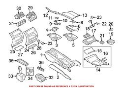 For Bmw Genuine Automatic Transmission Shift Lever 61319296900