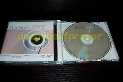 Absolute Love Nm Cd The Cars Bread Chris Rea Doobie Brothers Sonny And Cher Etc