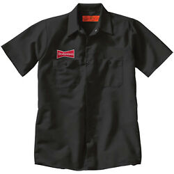 Budweiser Bud Embroidered Patch +delivery Man Uniform Work Shirt Breweriana Beer