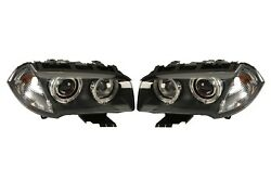 Left And Right Genuine Bi-xenon Adaptive Headlights Lamps Pair Set For Bmw E83 X3
