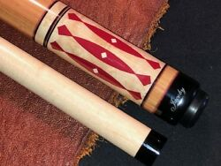Jacoby Pool Cue With Jacoby Standard Maple Shaft. Model 0713-35.