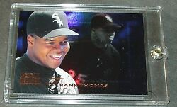 1996 Frank Thomas Select Certified Mirror Blue 135 Only 45 Made