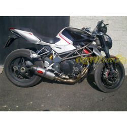 Exhaust Complete Mass Oval Titan Mv Augusta Brutale 1078 Approved Made In Italy