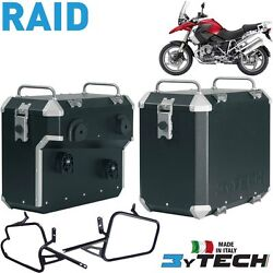 Side Panniers Cases Boxes Raid 41 +47 Lt Mytech Bmw 1200 R Gs K25 And039 03and039/12
