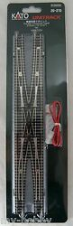 N Scale Double Crossover Track 310mm 12-3/46 - 1pc. - Kato 20-210