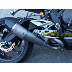 Exhaust Complete 3in1 Mass / Tuneable Titan Triumph Street Triple Made In Italy