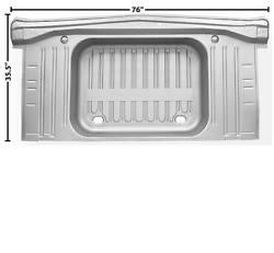 Chevy,chevrolet Impala Trunk Floor With Pan No Drop Offs 1963