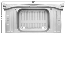 Chevy,chevrolet Impala Trunk Floor With Pan No Drop Offs 1964