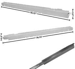 Chevy Impala 2 Door Inner And Outer Rocker Panel Set Left And Right 1962-1964