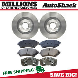 Front Brake Calipers Semi Metallic Pads Rotors Kit For 1999 Olds Intrigue 3.8l