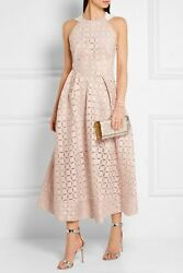 Sold Out Roland Mouret Baldry Dress In Pearl Pink Size 10
