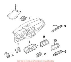 For Bmw Genuine Heads Up Display Assembly 62309262183