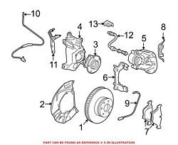 For Bmw Genuine Disc Brake Caliper Front Right 34116756304