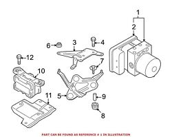 For Bmw Genuine Abs Hydraulic Assembly 34507841955