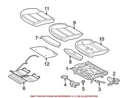 For Bmw Genuine Seat Cover Front Left 52107349974