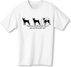 Toy Foxes Are Like Potato Chips! Can't Have Just One T-shirt Toy Fox Terrier